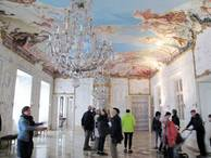 Rococo painted Cieling in Seehof Palace