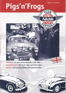Article - Magazine for Austin Healey Club Germany, 2014